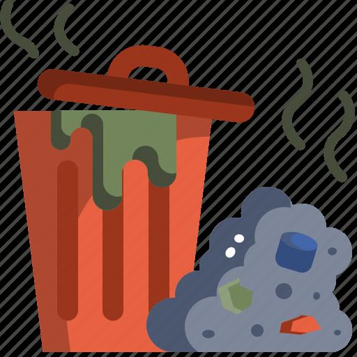Bin, environment, garbage, pollution, trash, waste icon - Download on Iconfinder