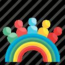people, diversity, lgbtq, pride, rainbow