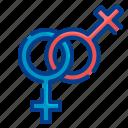 lesbian, sign, gender, woman, female