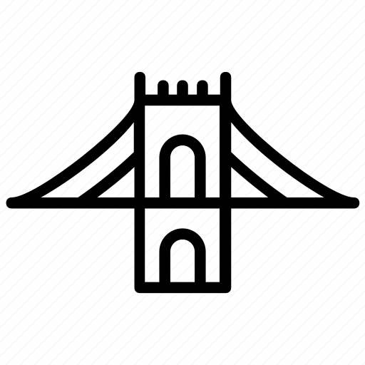 bridge architecture, bridge base, george washington, suspension bridge, washington overpass icon