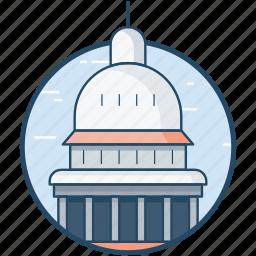 building, united states, united states capitol, washington, washington dc icon