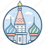 fortress, great bell tower, kremlin, moscow kremlin, russian icon