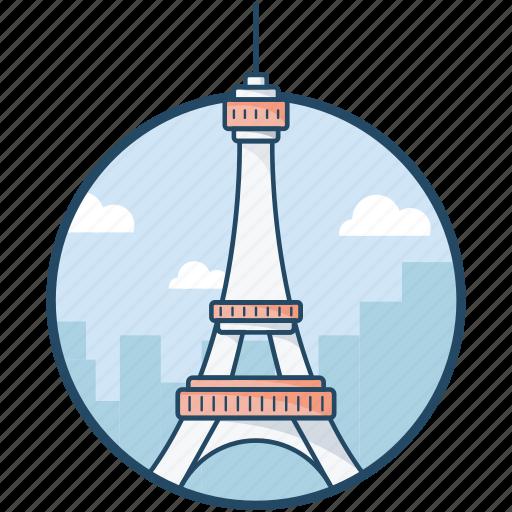 champ de mars, eiffel tower, iron lattice tower, paris, tour eiffel icon