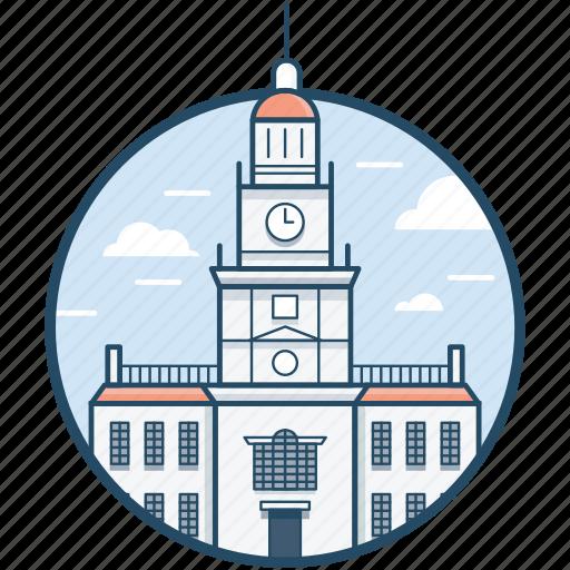 Independence hall philadelphia, independence national historical park, national park, philadelphia, united states icon - Download on Iconfinder