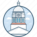 california, iowa, johnson county, lowa city, united states icon