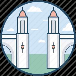 city, landmark, monuments, venice, venice city icon