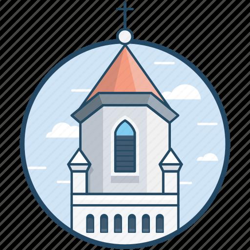 basilica church, church, france, monument, paris icon