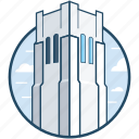 building, ids center, minneapolis, minnesota, skyscraper icon