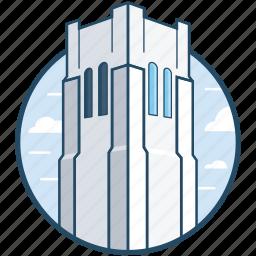 building, ids center, minneapolis, minnesota, skyscraper icon