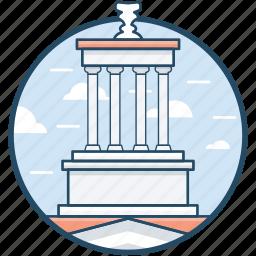 brooklyn, brooklyn city hall, building, landmark, monument icon