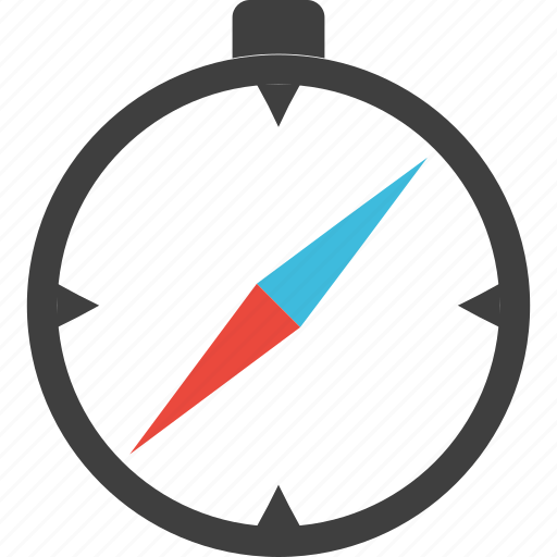 compass, equipment, gps, journey, navigate, tour, travel icon