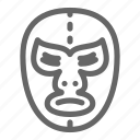 lucha libre, avatar, face, wrestling, mask, wrestler, mexican icon