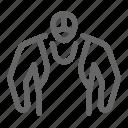 wrestling, mask, wrestler, costume, fighter icon