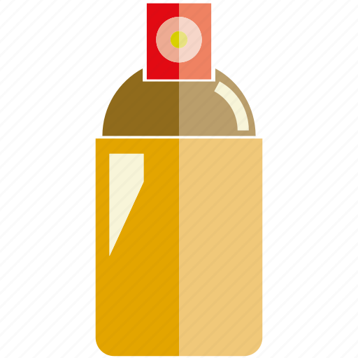 bottle, spray icon