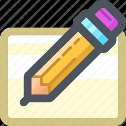 draw, edit, pencil, tools, write, writing icon