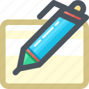 draw, edit, pen, tools, write, writing icon