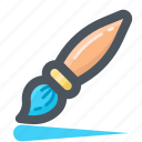 brush, draw, edit, paintbrush, tools, write icon