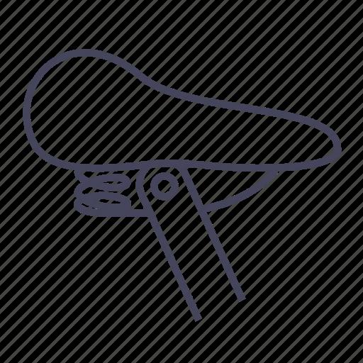bicycle, bike, comfortable, cycling, seat, wsd icon