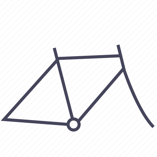 base, bicycle, frame, man, wsd icon