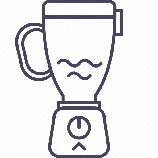 blender, canning, cook, equipment, kitchen, mixer, wsd icon