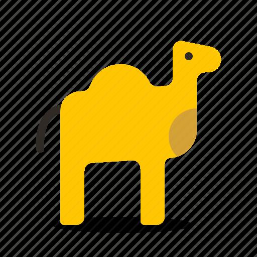 animal, camel, ride icon