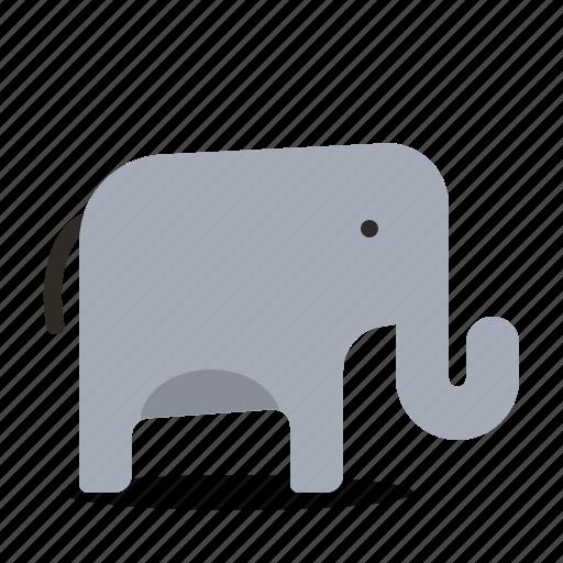 animal, elephant, nature icon