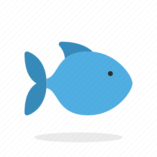fish, fishing, ocean, seafood, water icon