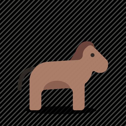 animal, horse, race, riding icon