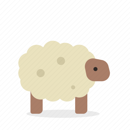 animal, cattle, farm, nature, sheep icon