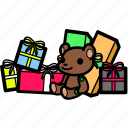 birthday, celebration, christmas, party, present, xmas icon