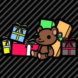 birthday, celebration, christmas, party, present, xmas icon