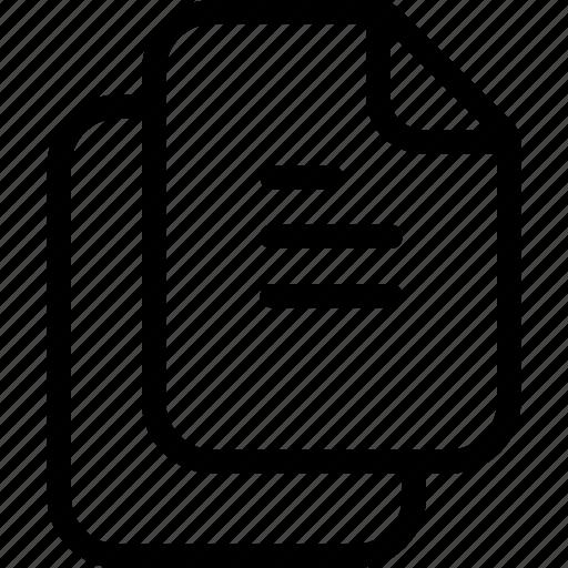 Description, document, office, task icon - Download on Iconfinder