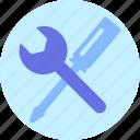 construction, hammer, repair, tools icon