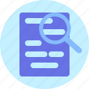 blank, document, file, format, paper, serach icon