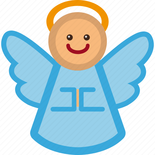 angel, christmas, decoration, holiday, xmas icon
