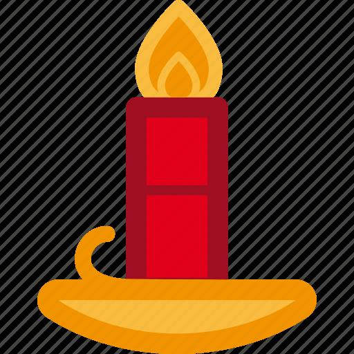 candle, christmas, decoration, holiday, xmas icon