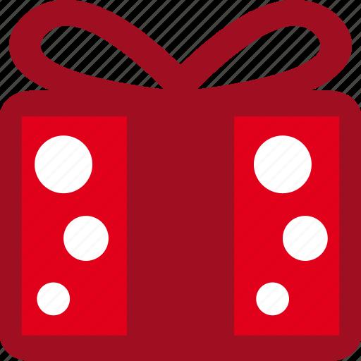 box, christmas, gift, present, ribbon icon