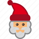 claus, kringle, kris, nicholas, saint, santa icon