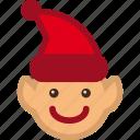 christmas, elf, helper, santa
