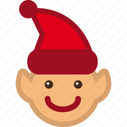 christmas, elf, helper, santa icon