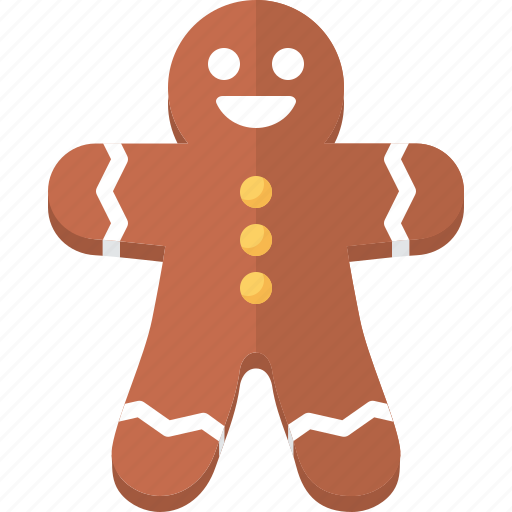 baked, bread, christmas, cookie, gingerbread, xmas icon