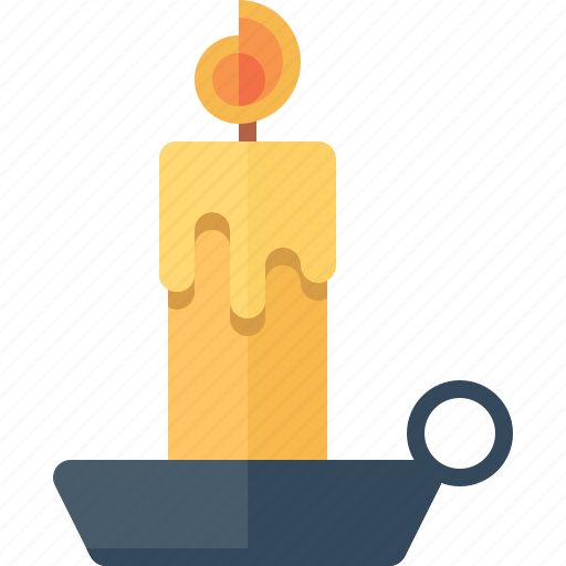 candle, christmas, decoration, flame, xmas icon