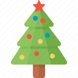 christmas, fir, holiday, new year, star, tree, xmas icon