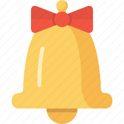 bell, christmas, ding, music, xmas icon
