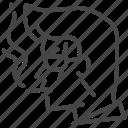 face, head, mafia, man, yakuza icon