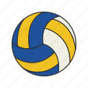 ball, ball game, games, lawn game, sport, volleyball, yard games icon