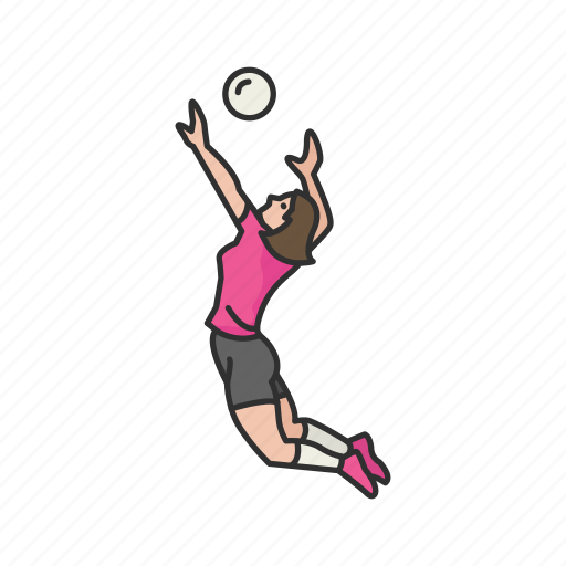 game, lawn game, sport, team sport, volleyball, volleyball player, yard games icon