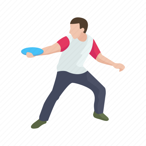 disc, frisbee, games, kan jam, kan jam player, male player, yard games icon