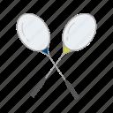 badminton, badminton racket, outdoor game, racket, sports, sports equipment, yard games icon