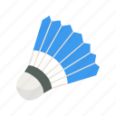 badminton, game, outdoor game, shuttle, shuttlecock, yard game icon